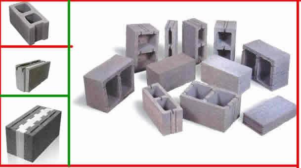 بلوک سیمانی مصالح ساختمان